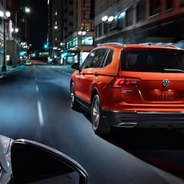 2019 Volkswagen Tiguan night driving