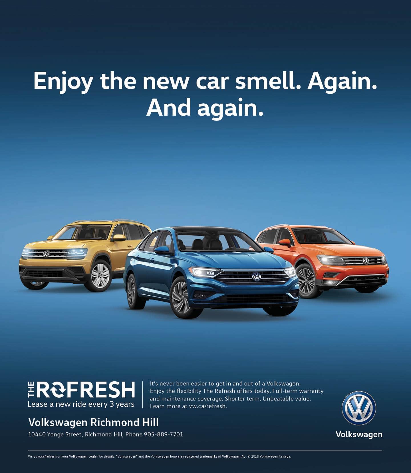 Deals of the Month at Richmond Hill Volkswagen | Volkswagen Richmond