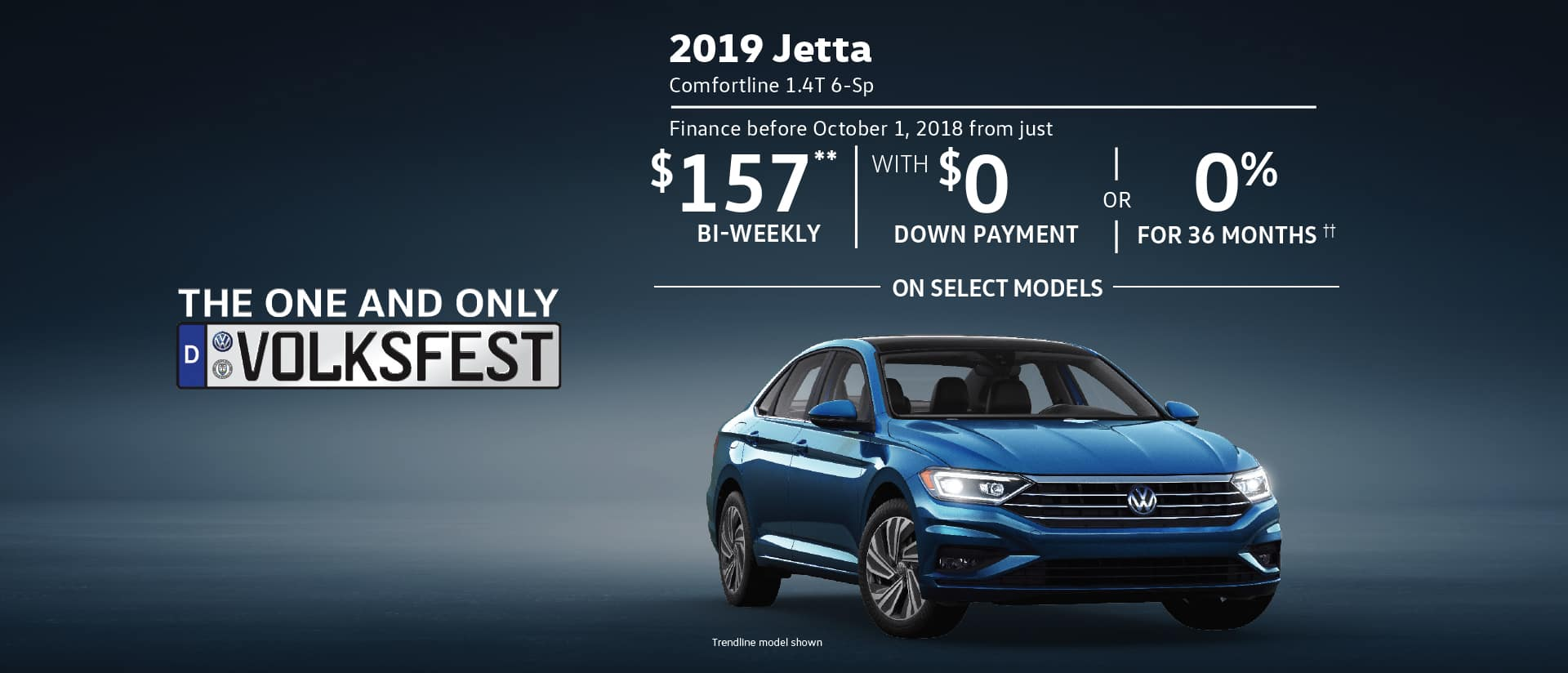Volksfest - Clearance Event - Jetta special offer