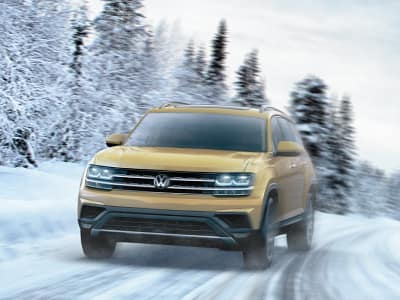 FREE winter tires on all new Tiguan and Atlas models