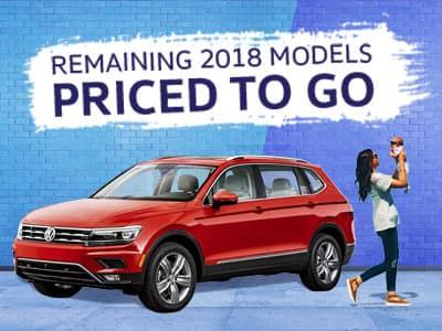 Remaining 2018 Volkswagen Models