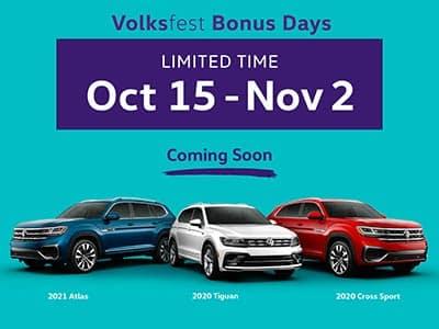 Volksfest Bonus Days