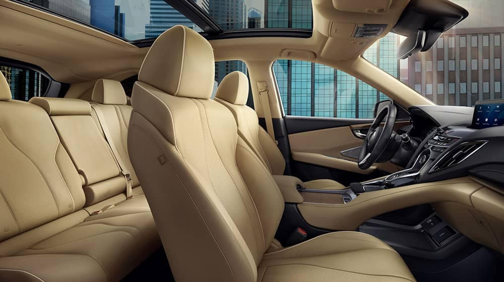 2019 Acura RDX front seating