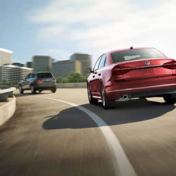 2019-Volkswagen-Passat-on-highway