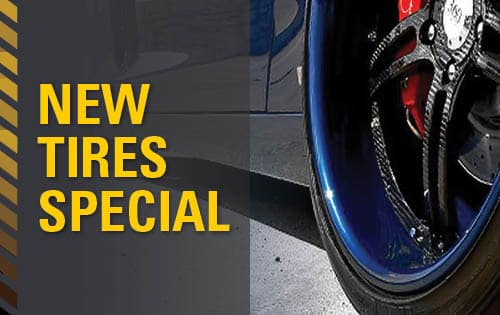 Service Special - New Tires