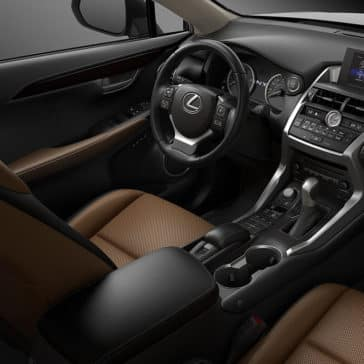 2017 Lexus NX Cabin