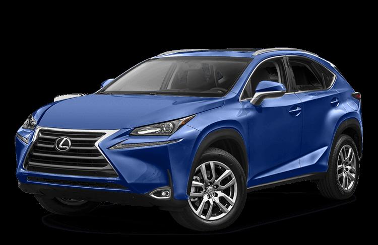 2017 Lexus NX Blue