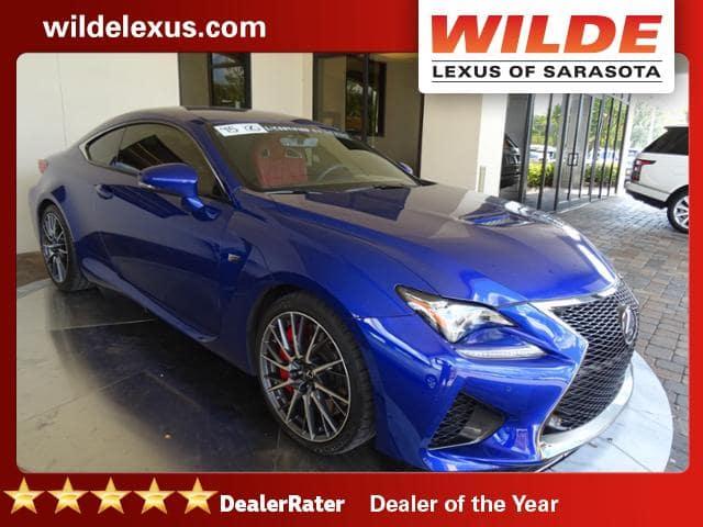 Used Car Of The Week Certified Used 2015 Lexus Rc F Wilde Lexus