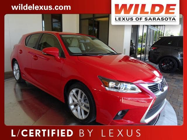 Certified Used 2015 Lexus CT 200h