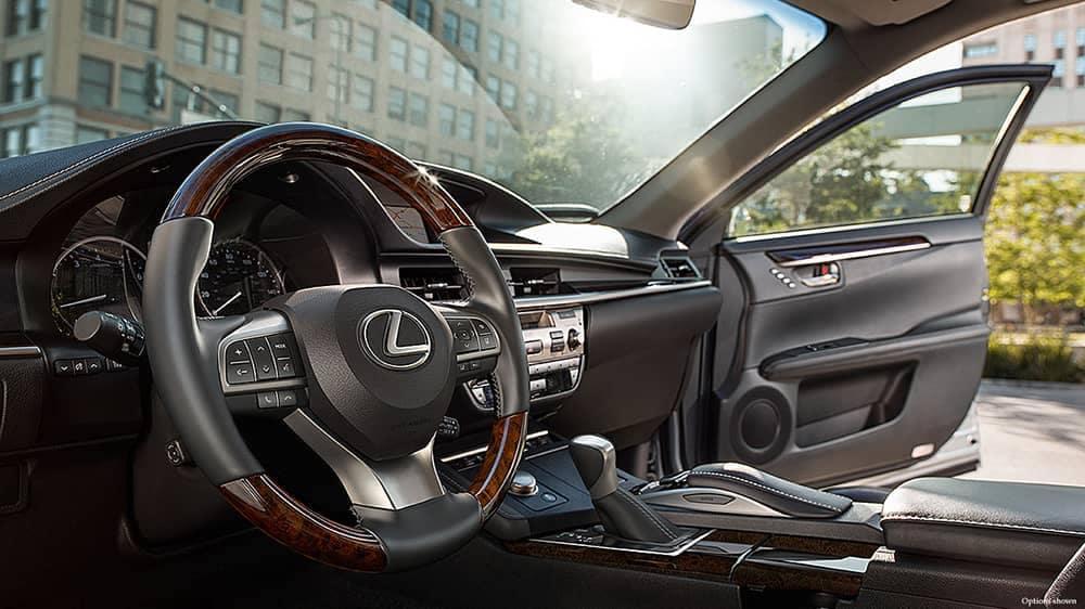 2018 Lexus ES Dash