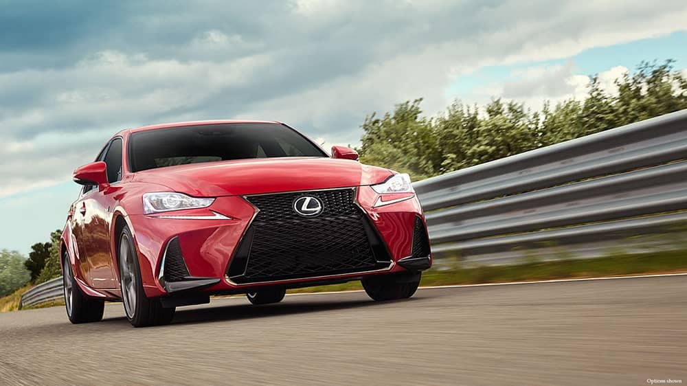 2018 Lexus IS Red