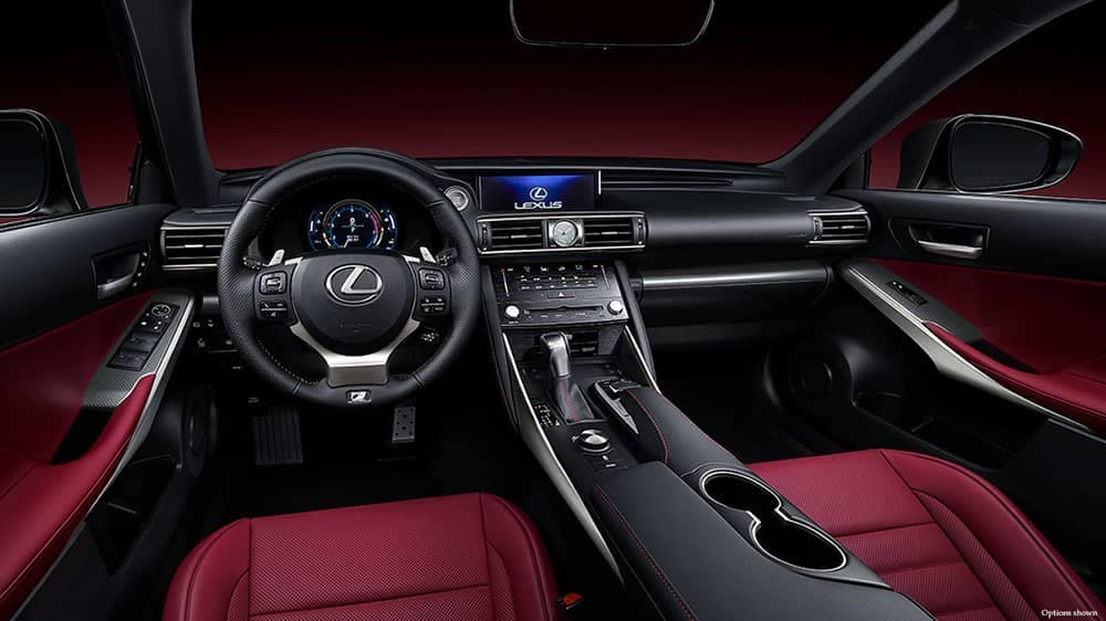 2018 Lexus IS Dash