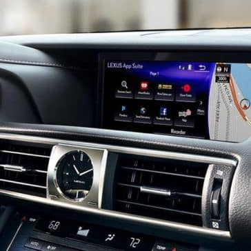 2018 Lexus IS Touchscreen