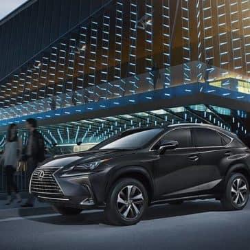 2018 Lexus NX PArked