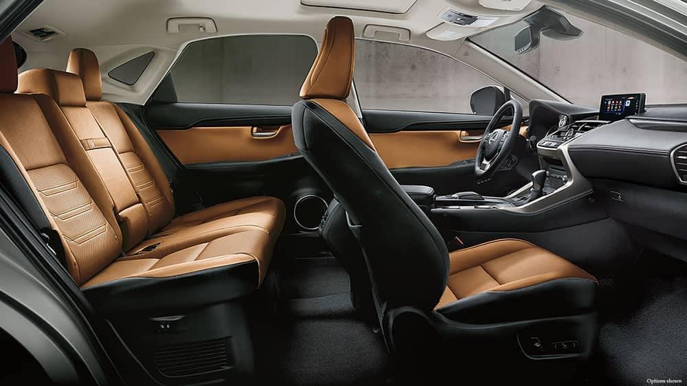 2018 Lexus NX Seats