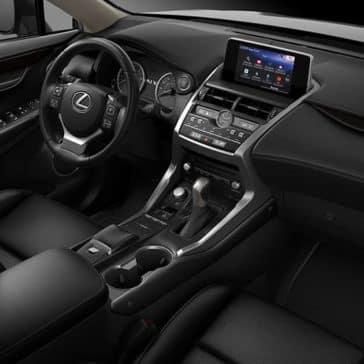 2018 Lexus NX Cabin