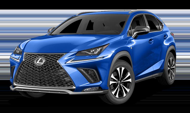 2018 Lexus NX Blue