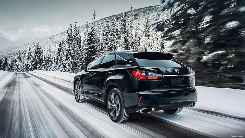 2018 Lexus RX In Snow