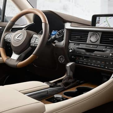 2018 Lexus RX Dash