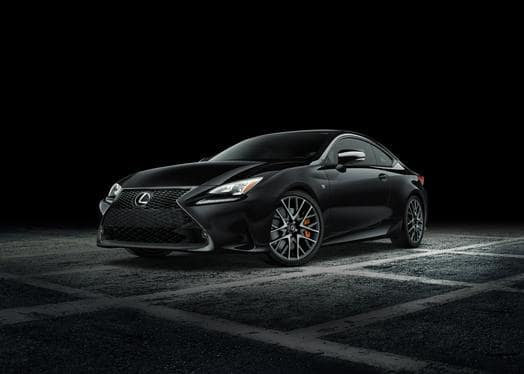 Lexus Creates A New Black Line for RC F Sport