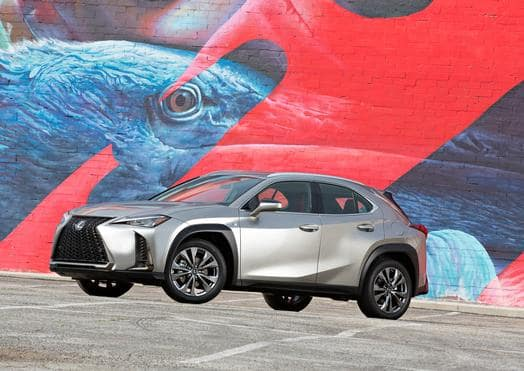 Lexus UX Debuts for First Time in North America