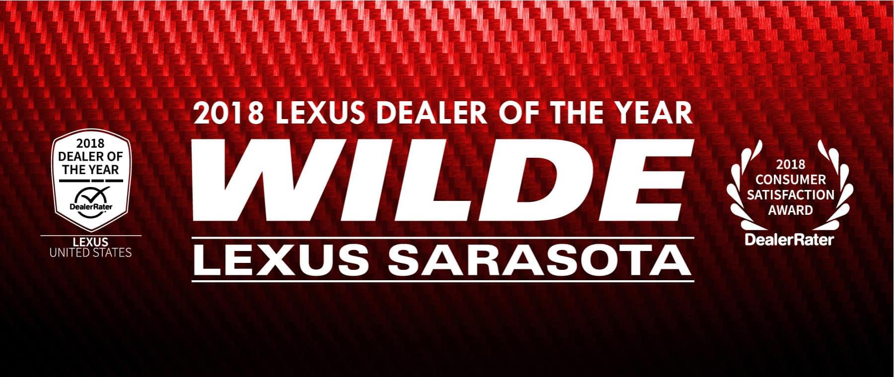Dealer Of the Year Award Banner