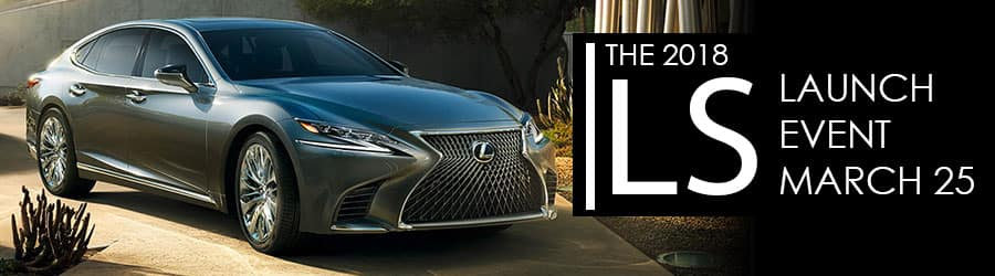 2018 Lexus IS Launch Banner