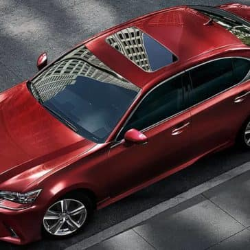 2018 Lexus GS Top