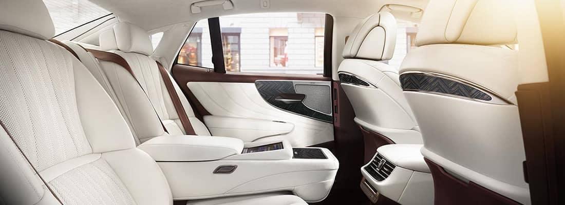 2018 Lexus LS Seating