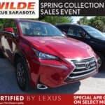 Certified Used 2015 Lexus NX 200t