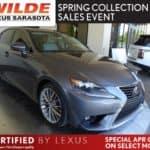 Certified Pre-Owned 2015 Lexus IS 250