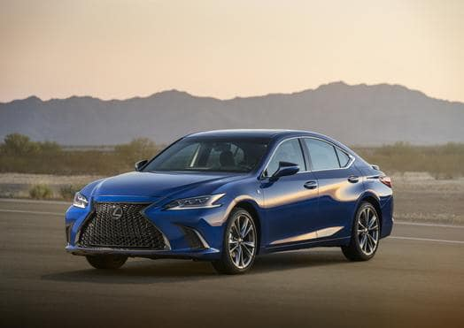Lexus Introduces ES F Sport