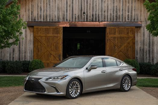 Meet the New Generation Lexus ES