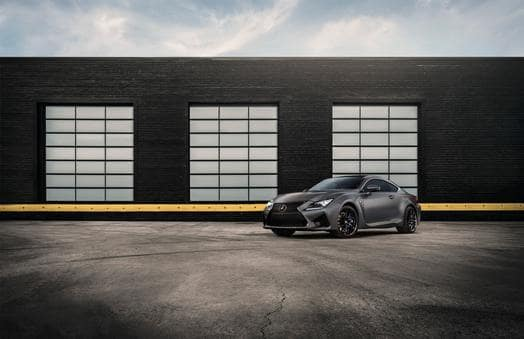 Lexus Releases 10th Anniversary Editions of the 2019 Lexus GS F and 2019 RC F