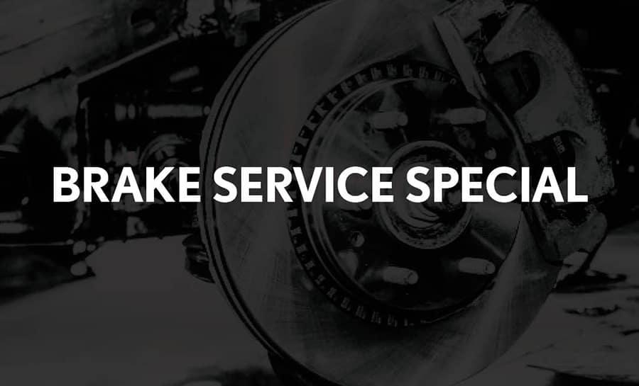Brakes Service Special