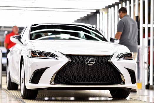 Did you know that the Lexus ES 350 is assembled in Kentucky?