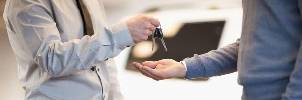 Exchanging keys