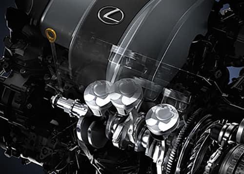 2018 Lexus RX Engine