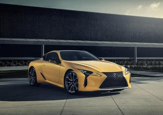 Lexus debuts LC 500 Inspiration Series