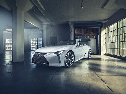 Lexus debuts LC Convertible Concept