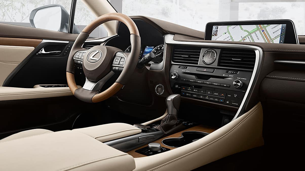 2019 Lexus-RX-parchment-leather-bamboo-trim
