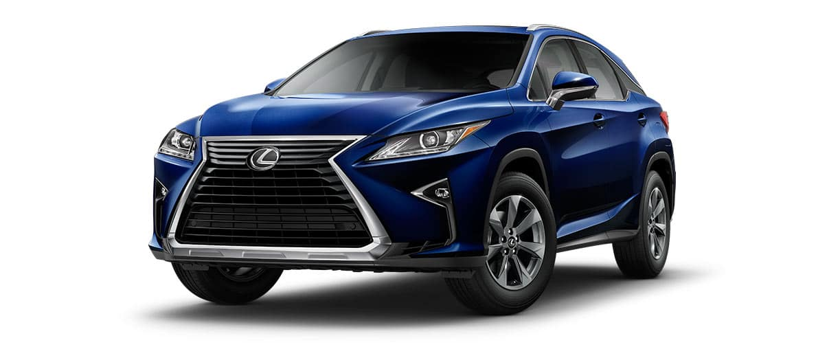 2019 RX exterior color blue