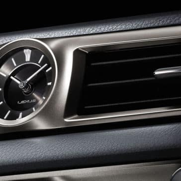 2019 Lexus GS Clock