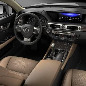 2019 Lexus GS Dash