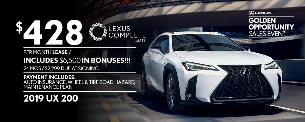 Lexus Lease Offers >> New Lexus Vehicle Special Offers Sarasota S Best Deals