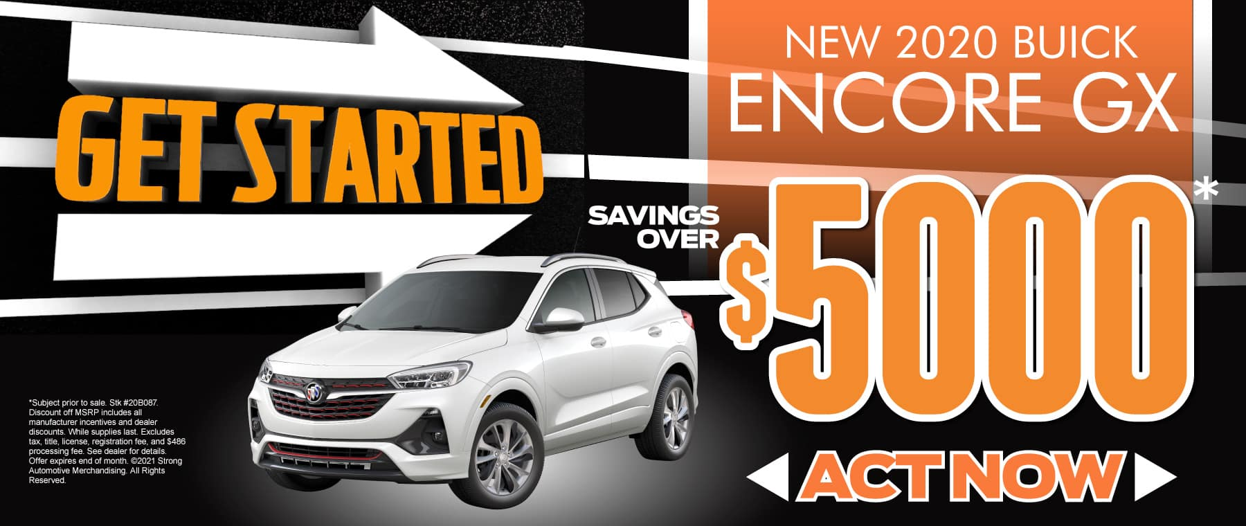New 2020 Buick Encore - $5000 off - act now