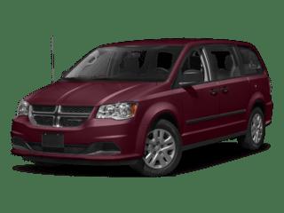 Red 2017 Dodge Grand Caravan