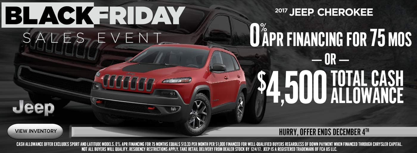 Black Friday Cherokee