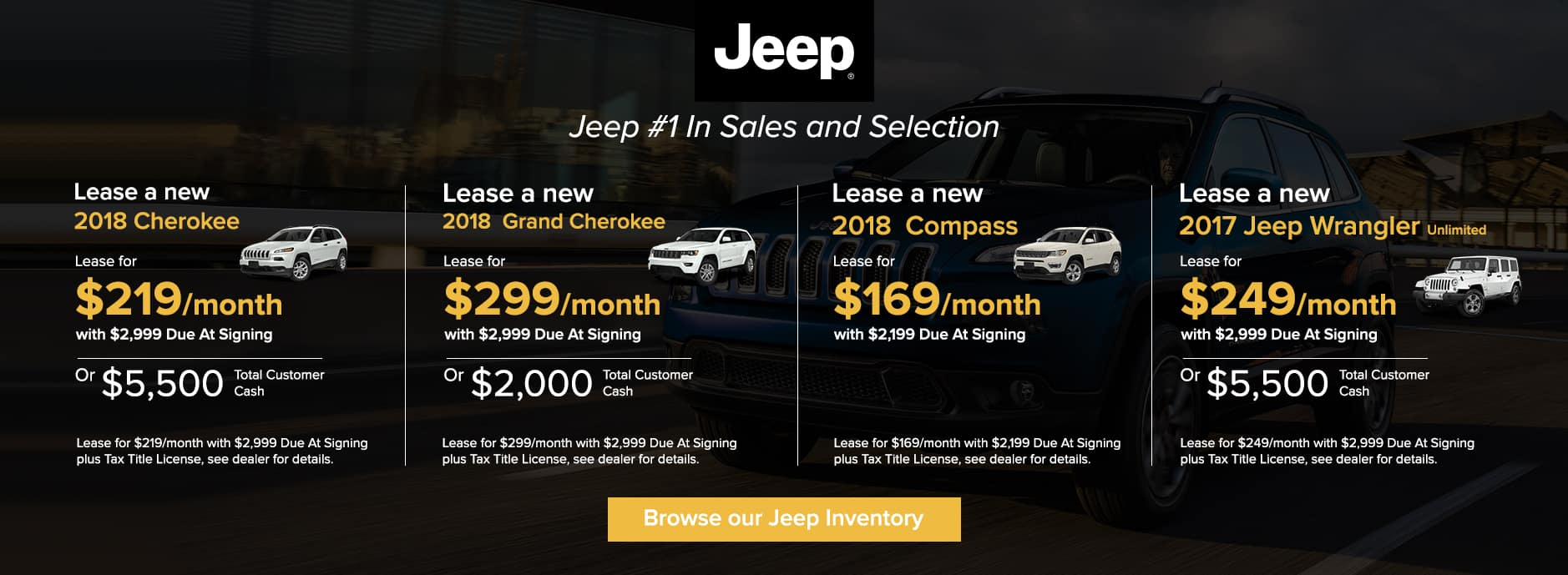Jeep November Offers Zeigler CDJ