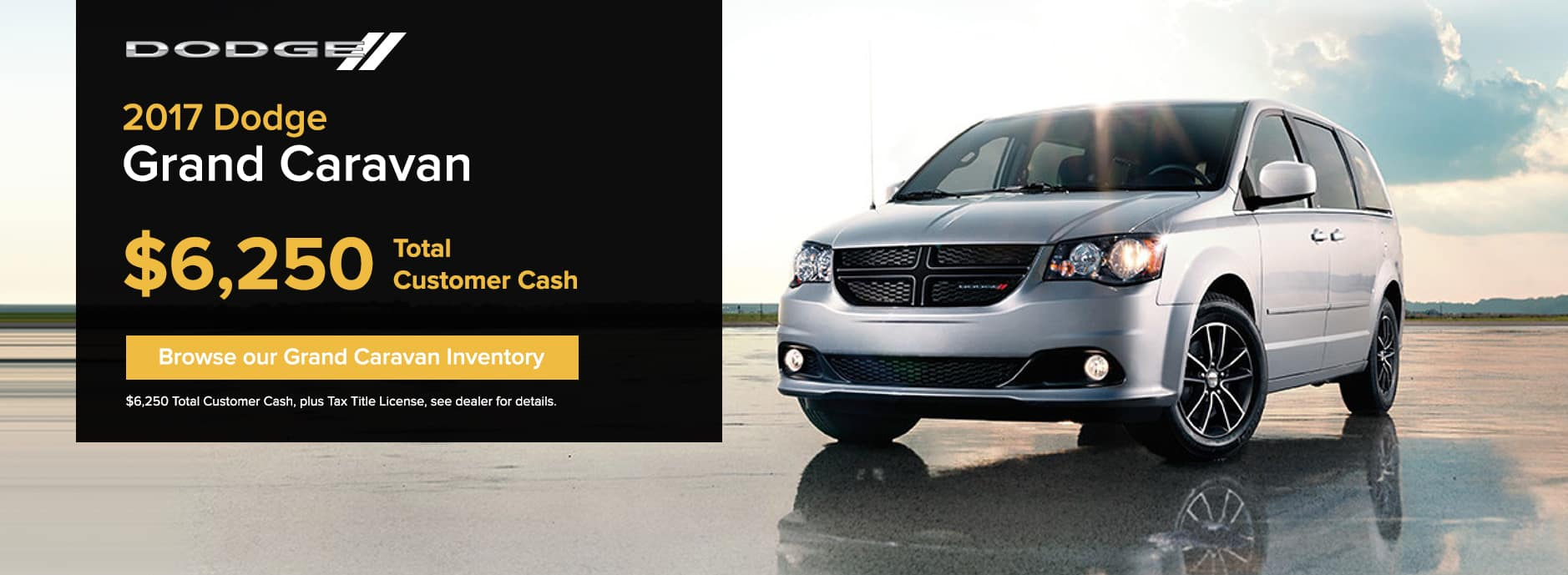Dodge Grand Caravan November Offer Zeigler CDJ
